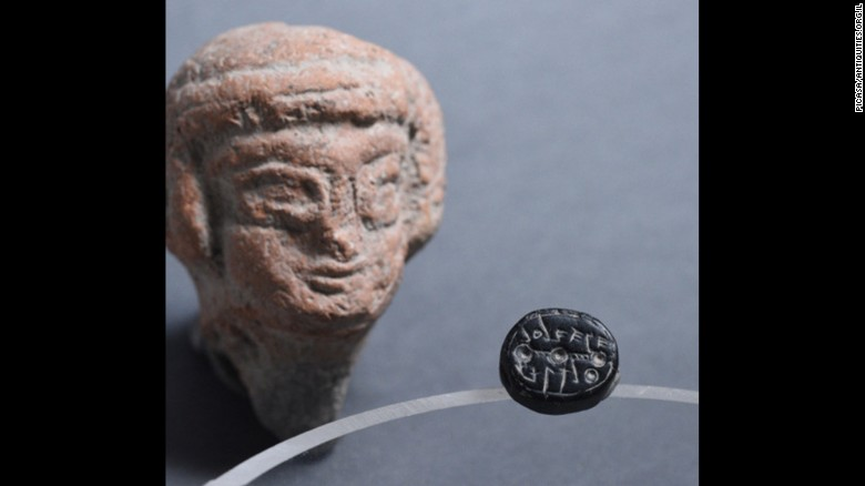 Ancient seal found in Jerusalem