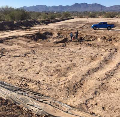 Tucson construction site reveals over 2500-year-old human footprint