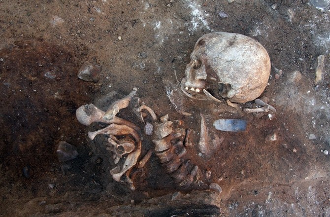 A grave without any parallel in central Europe found