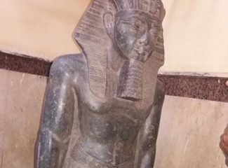 Stolen Pharaoh's statue recovered