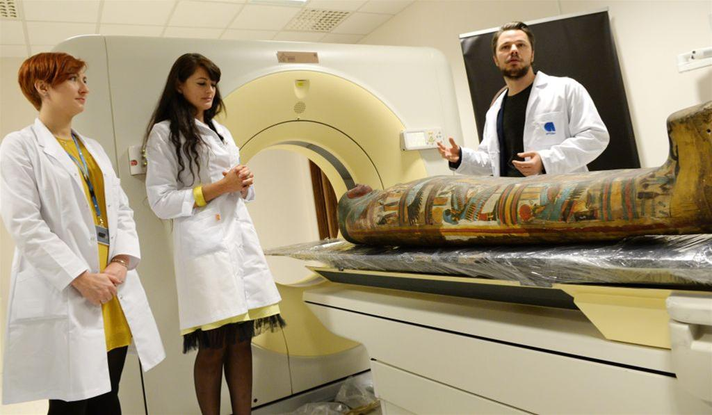 Over 40 mummies to be examined with modern technology