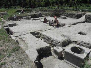 Ancient armoury building discovered at a Roman fort