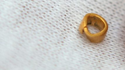 Copper Age settlement reveals a golden bead