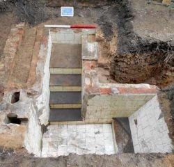 Victorian plunge pool discovered in 12th century abbey