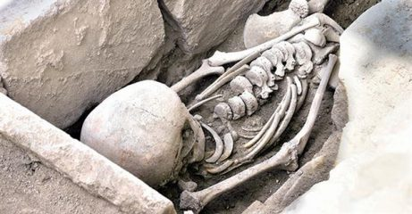 Byzantine burial found in ancient city