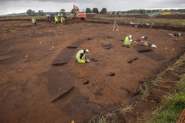 A follow-up to the discovery of a Bronze Age sword under a football field