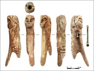 Mysterious figurine fished out of a Siberian river