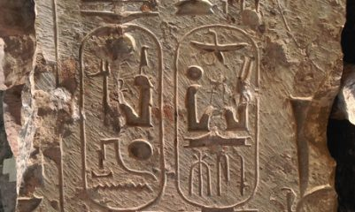 Evidence for a temple of Ramses II discovered in Egypt