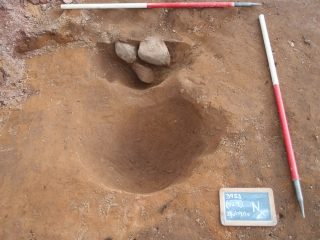 Roman oven discovered in legion fort's annexe