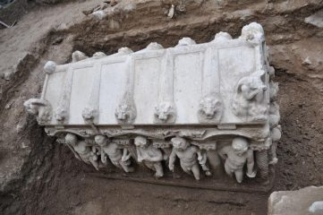 Follow-up to the sarcophagus discovery by Police in Turkey