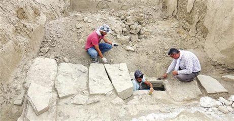 Nearly 3-millennia-old sewage system discovered at Urartian fortress