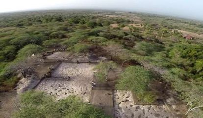 Drones used in archaeological works in the Caribbean