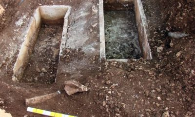 Ancient tombs unearthed at Ikaria
