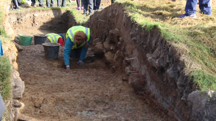 A follow-up to the excavation at the Hellfire Club site in Dublin