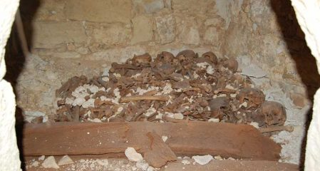 Byzantine Era crypt provides insight into monks' hearing problems