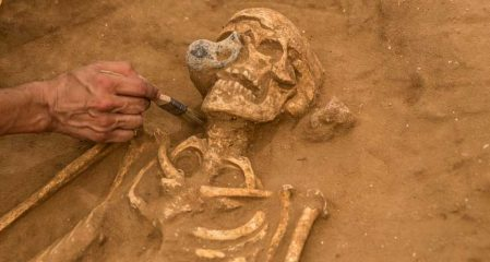 Archaeologists studied a large Philistine cemetery
