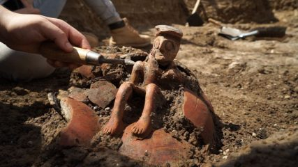 Unusual pottery vessel found in Israel