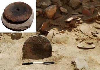 Numerous archaeological finds at a Canaanite palace