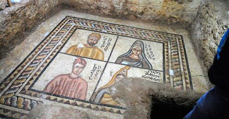 Ancient Edessan mosaics fully revealed - a follow-up