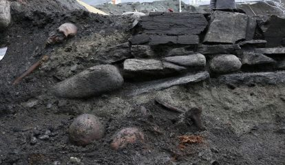Viking king's altar discovered by archaeologists