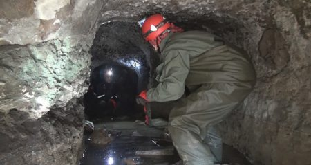 2500-year-old tunnel discovered in North Turkey