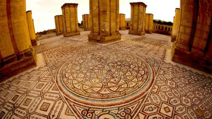 After 80 years 7-million-piece mosaic from 8th century revealed