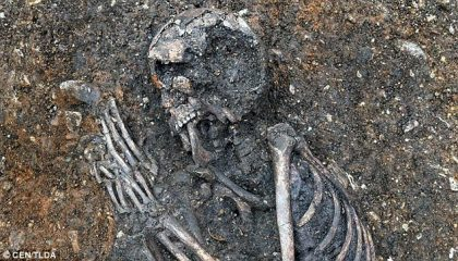Neolithic skeleton of a 16-year-old girl that died of tuberculosis found