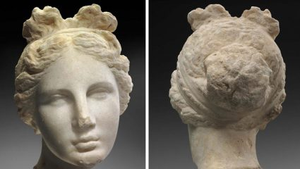 Head of Aphrodite among artefacts from Libya found in Geneva