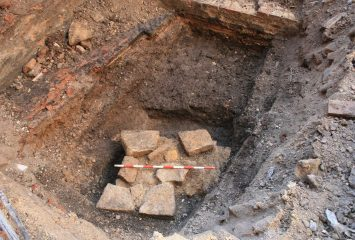 Roman wall found under five star hotel