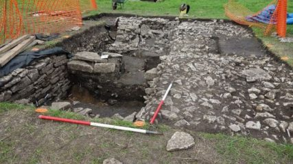 Remains of Saxon workshops and a Norman building discovered