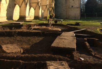 Interesting finds from Gloucester Cathedral