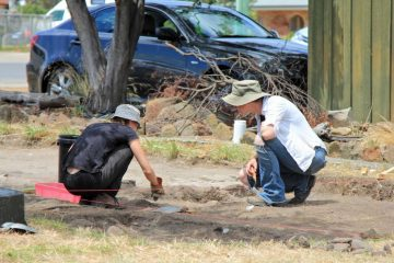 Artefacts linking to British soldiers found on Tasmania