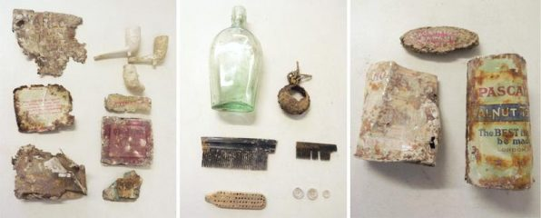 World War I artefacts found at Larkhill