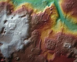 Airborne laser scans reveal unknown Mayan road network in Guatemala
