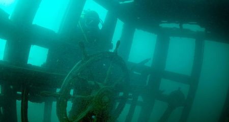 Russian military shipwreck discovered in Lake Van