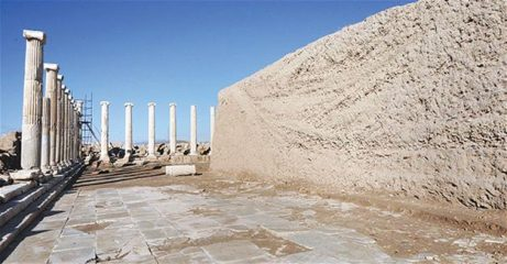 Agora unearthed at ancient Laodicea
