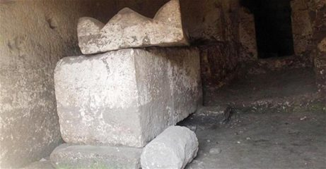 Rock tombs of Romans and Osroene Kingdom found