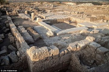 Ruins unearthed near Sea of Galilee might be a medieval synagogue