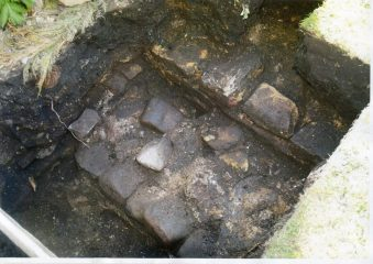 Remains of a Roman bathhouse uncovered