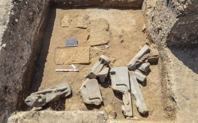 Statues of Pharaoh Amenhotep III and goddess Sekhmet discovered