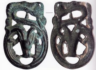 Research of dragon-shaped buckles provides new insight