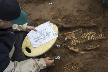 Remains of Great Famine victim found after 700 years
