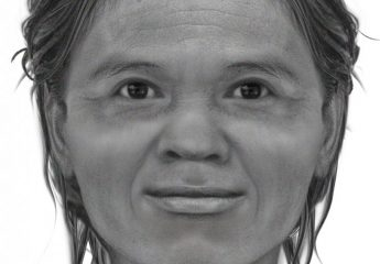 Neolithic Thailand woman's face reconstruction