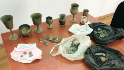Police recovers stolen antiquities during house raid