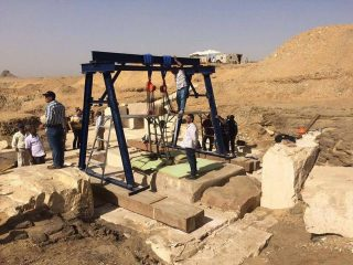 Possible burial chamber of Egyptian princess found