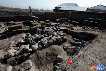 Early Medieval tombstones discovered in Armenia
