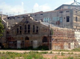 Tannery remains undergo structural safety works