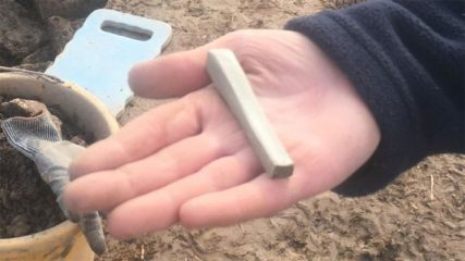 Iron Age site reveals a whetstone