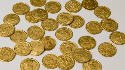 Hoard of Roman gold coins discovered in orchard