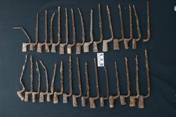Stash of American Revolutionary War bayonets discovered